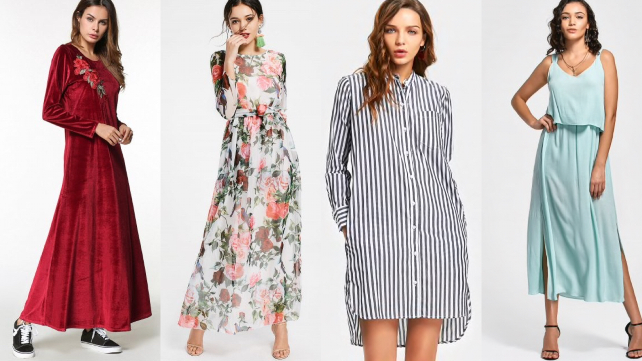 6 Dresses (Designs) that will never go out of style  Buy outfits online- zaful