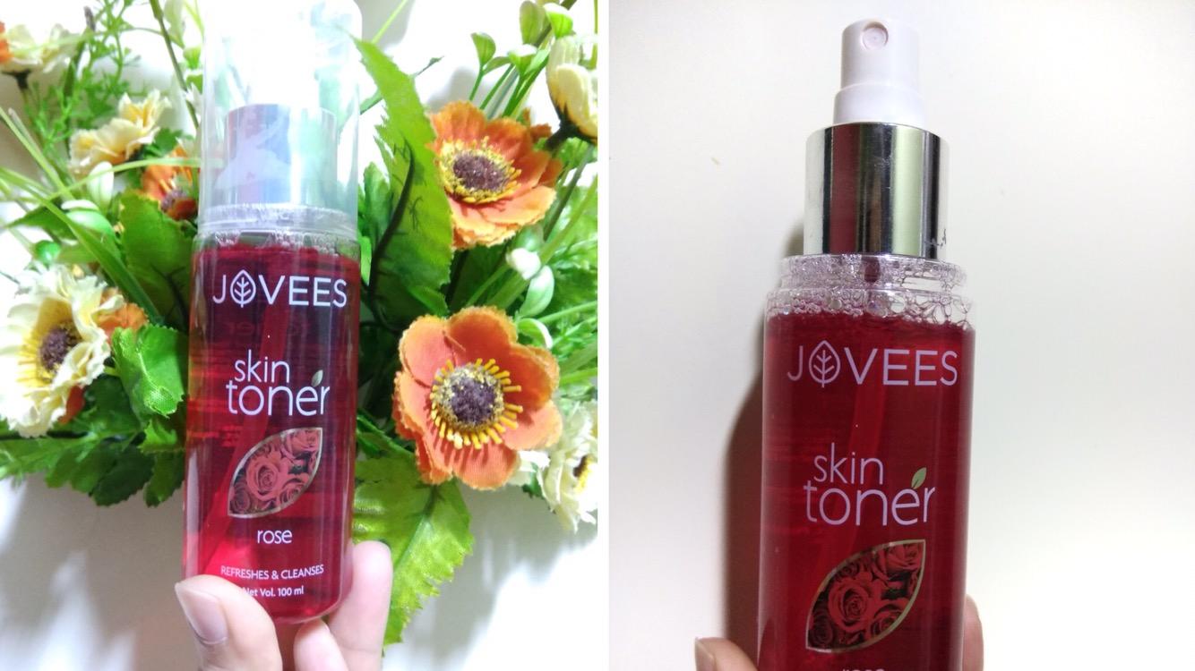 Jovees Rose Skin Toner Review| Get instant freshness