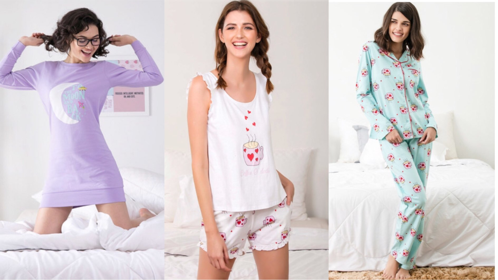 Cute and comfortable Nightdresses online that you can't resist buying