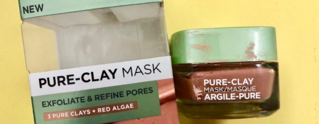 L'Oreal pure Clay Mask Exfoliate and Refine Pores