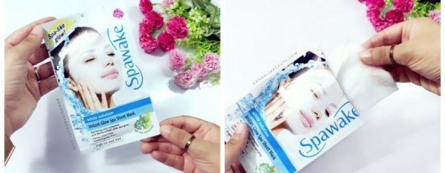 Spawake Instant Glow Spa Sheet Mask Review