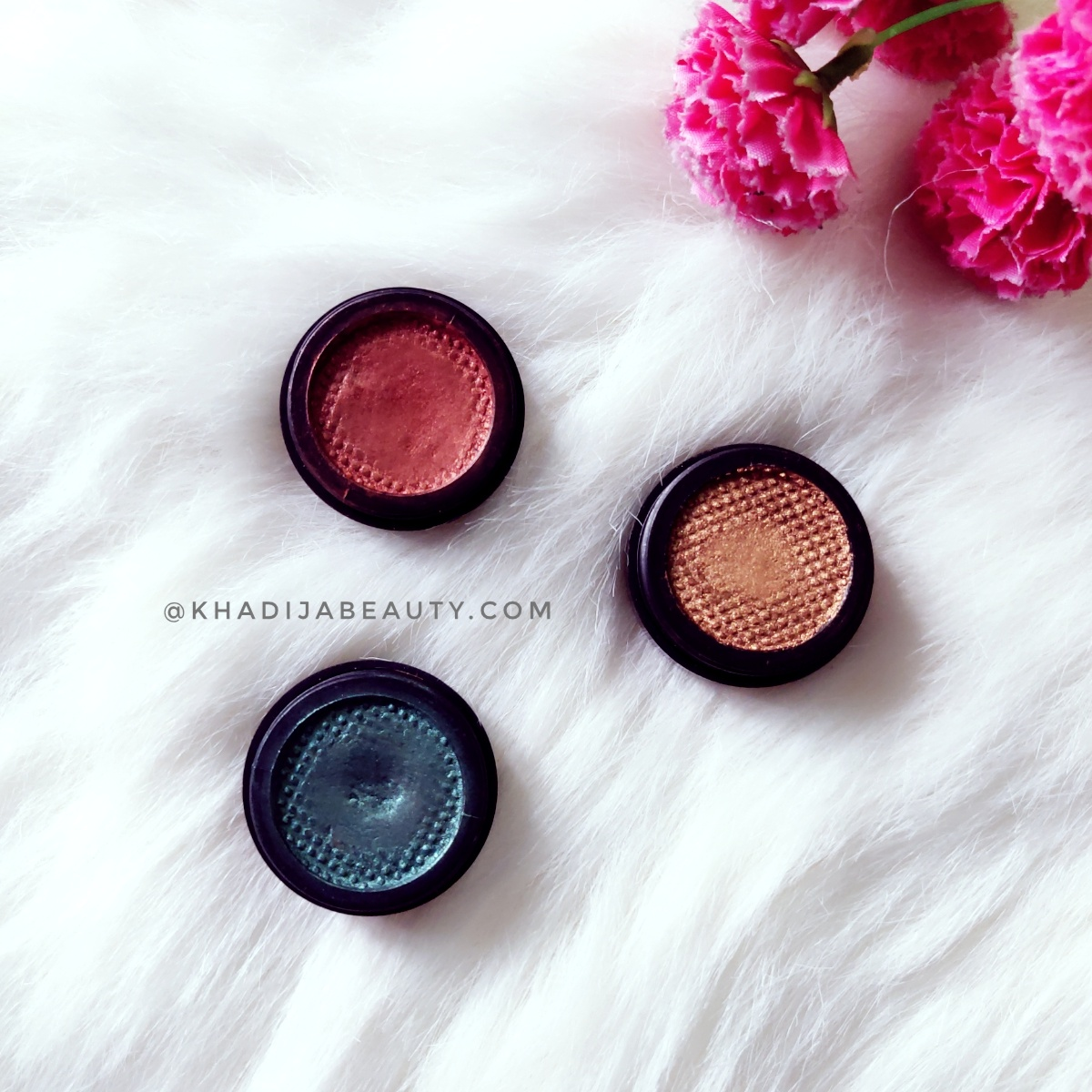 TS cosmetics Velvet eyeshadows review