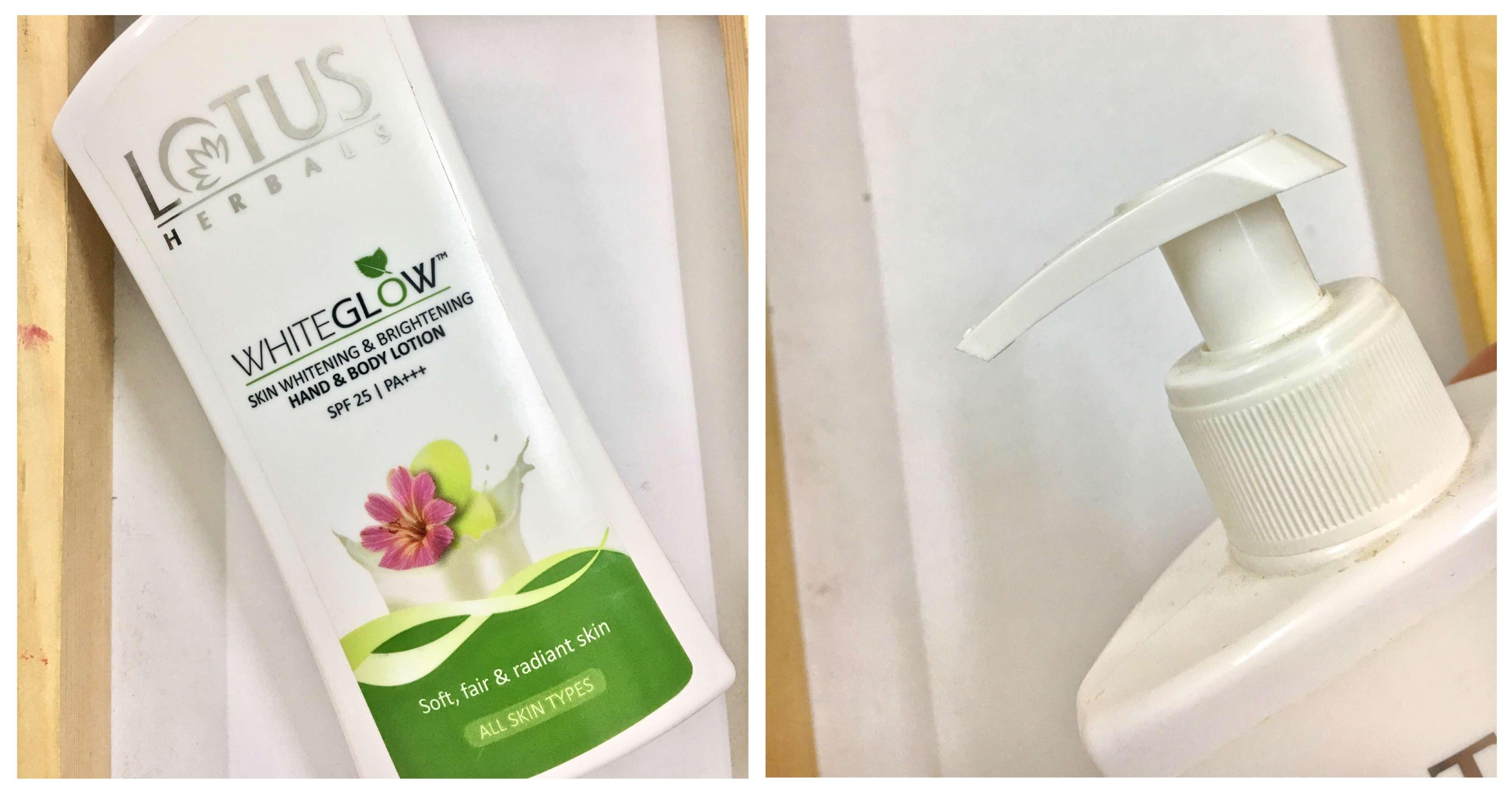 Lotus Herbals WhiteGlow Skin Whitening & Brightening Body Lotion SPF-25