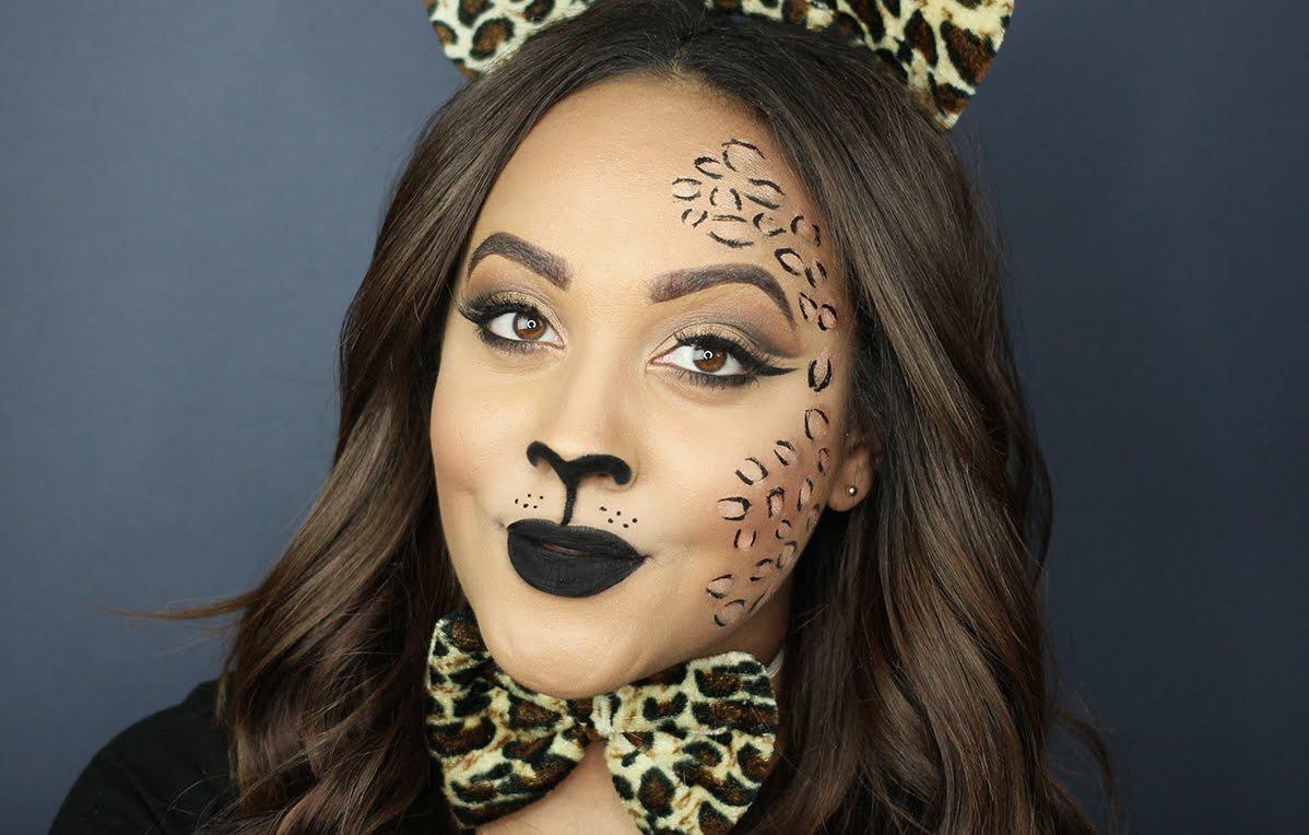 Cheetah Face Makeup For Saubhaya Makeup