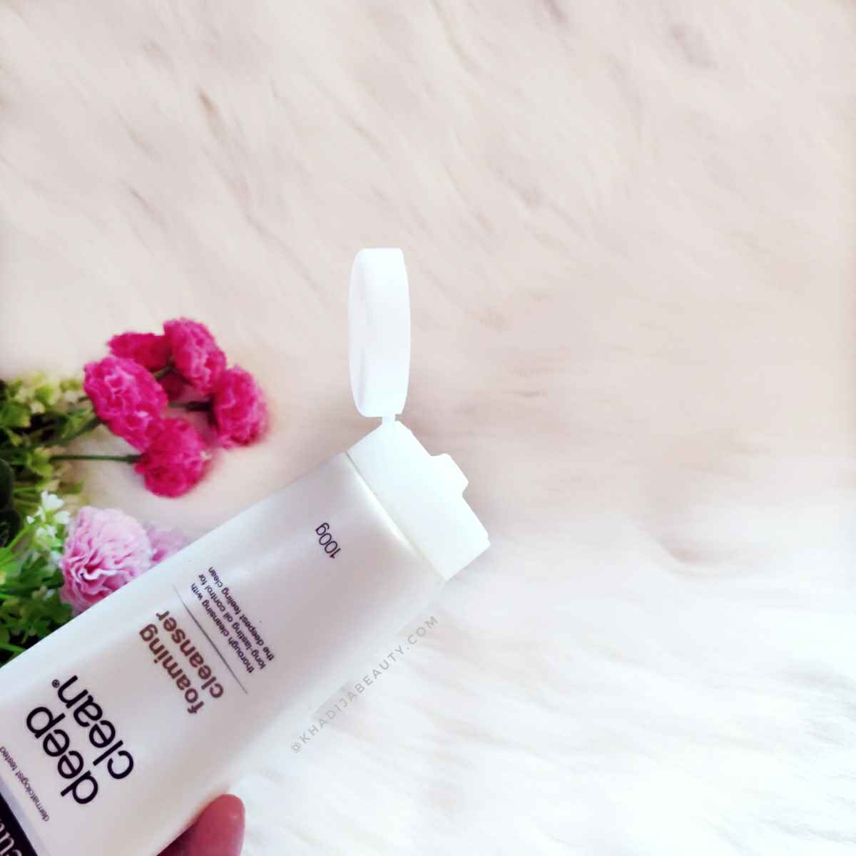 Neutrogena deep clean foaming cleanser Review