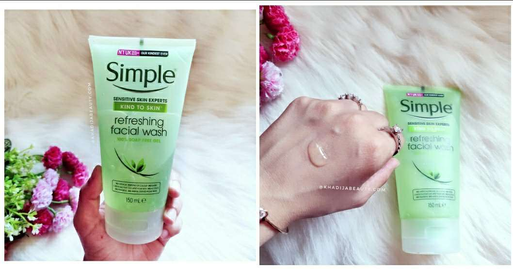 Simple Refreshing facial wash Review| You would love to try