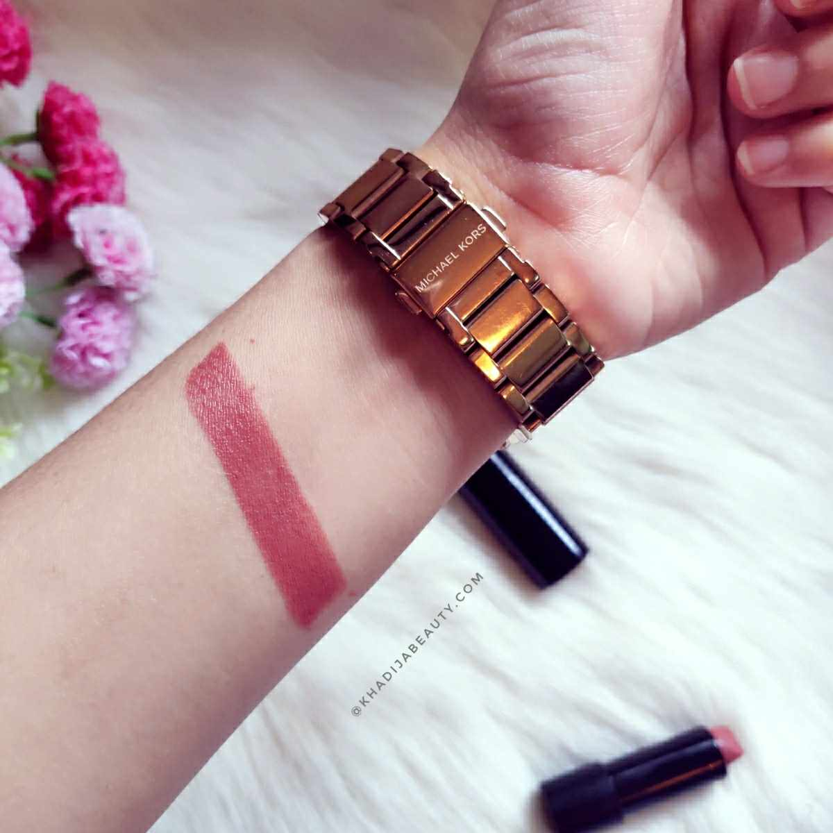 Ruby's Organics lipstick Bare Review & Swatches