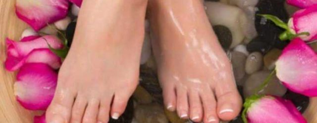 feet lightening at home