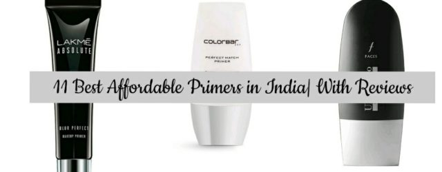 Affordable Face Primers in India