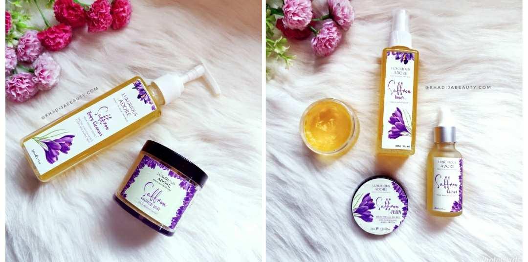 luxurios adore saffron range review