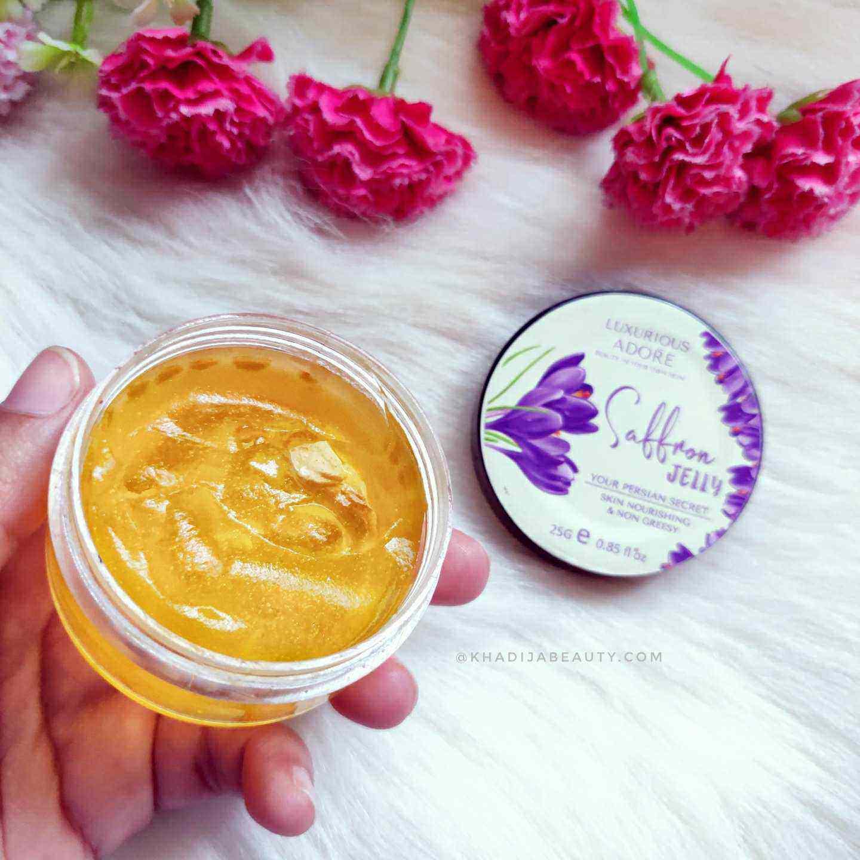 Luxurious adore Saffron saffron jelly review
