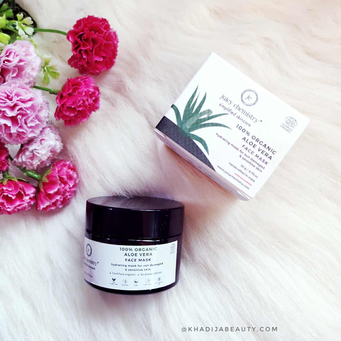Juicy chemistry Aloe Vera Powder Mask review
