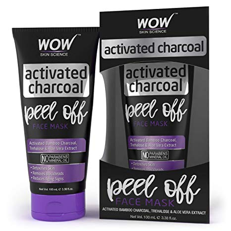 WOW, Skin Science Activated Charcoal Face Mask