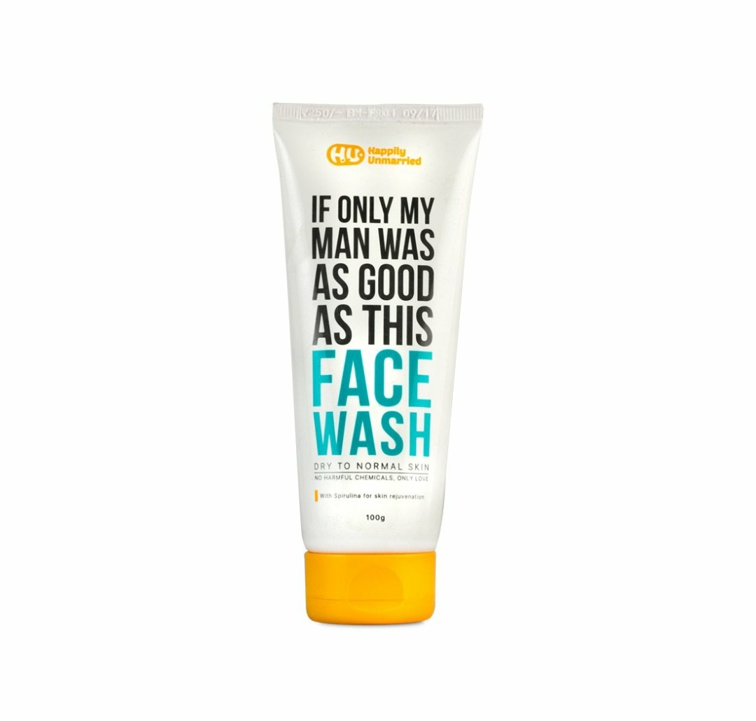 happily unmarried face wash