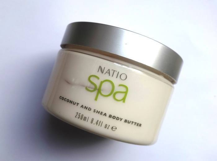 Natio Spa Coconut and Shea Body Butter