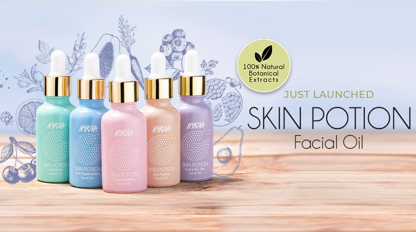 Nykaa Skin Potion Facial Oil (Price – Rs. 699)