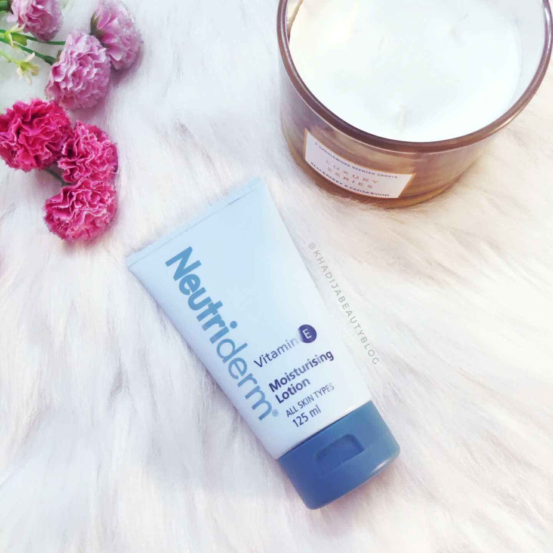 Neutriderm Vitamin E Moisturizing lotion