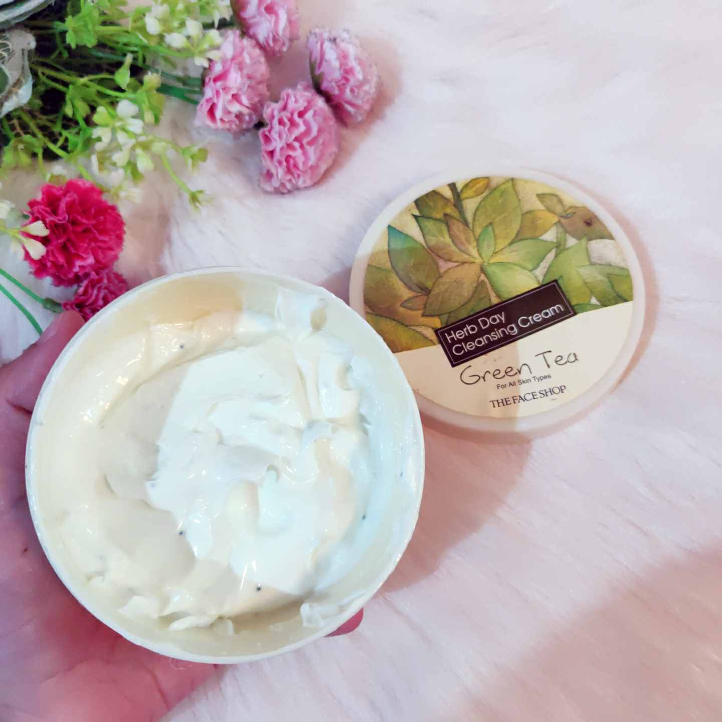 The Face shop herb day cleansing cream