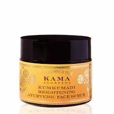 Kama Ayurveda Kumkumadi Brightening Ayurvedic Face Scrub (Price – Rs. 1295)