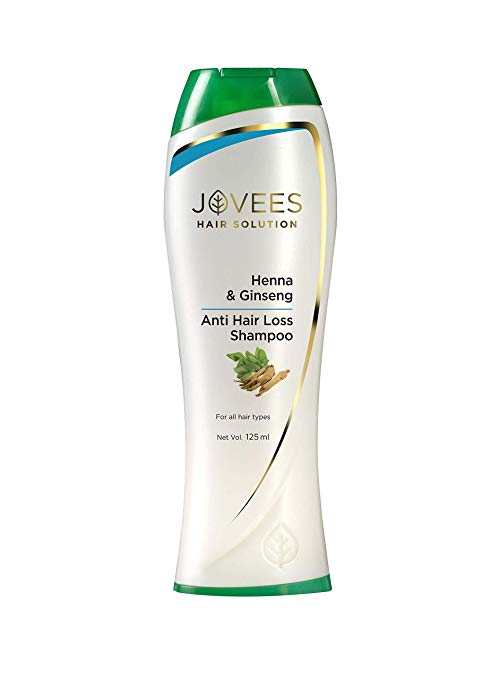Jovees Henna & Ginseng Anti Hair Loss Shampoo (Price – Rs. 230)