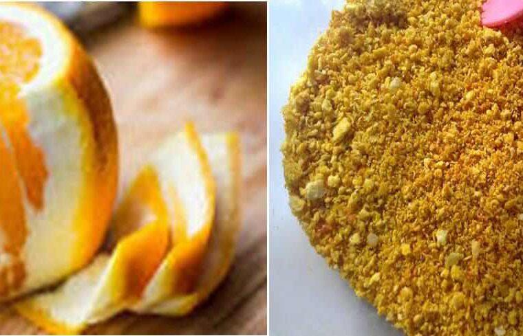 DIY Orange Peel Powder Face Masks for Healthy glowing skin| How to make orange peel powder at home