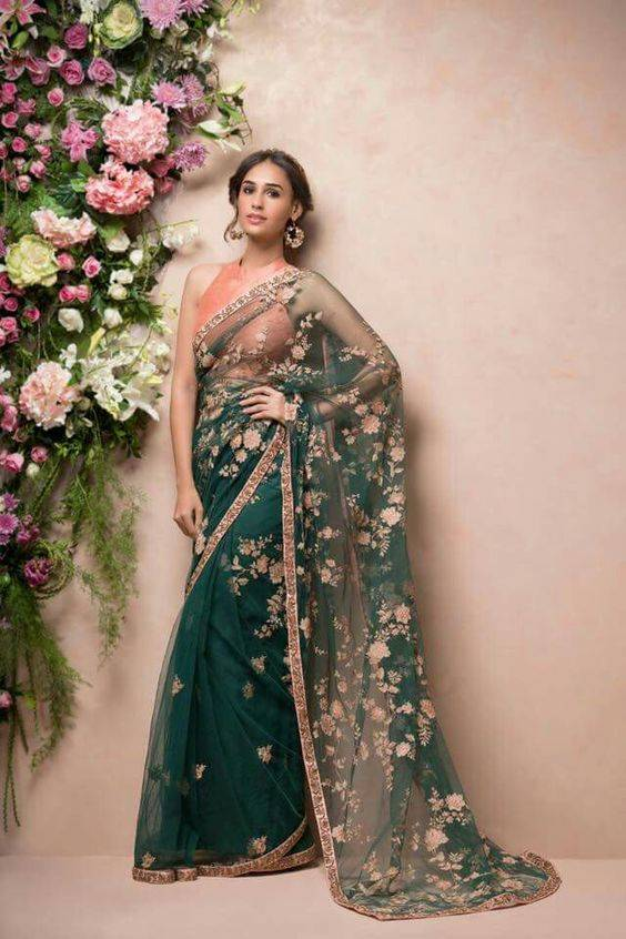 Saree Looks for party