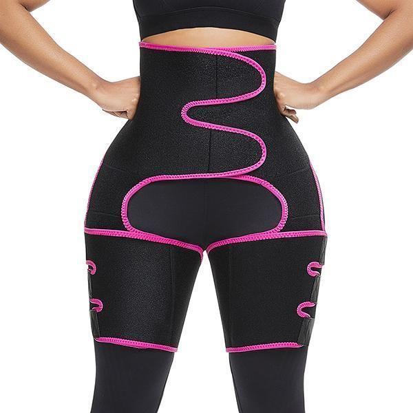 Waist Trainer Thigh Trimmer High waist Sweat Body Shaper