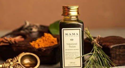Kama Ayurveda Nalpamaradi Thailam Skin brightening Treatment (Price – Rs. 1250)