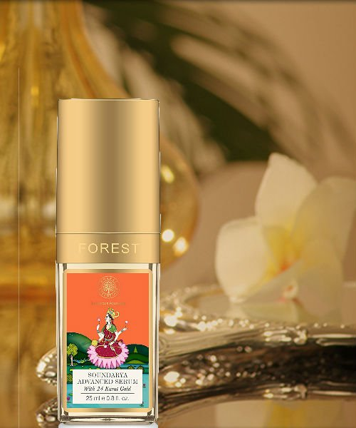 Forest Essentials Soundarya Serum with 24K Gold (Price – Rs. 3975)