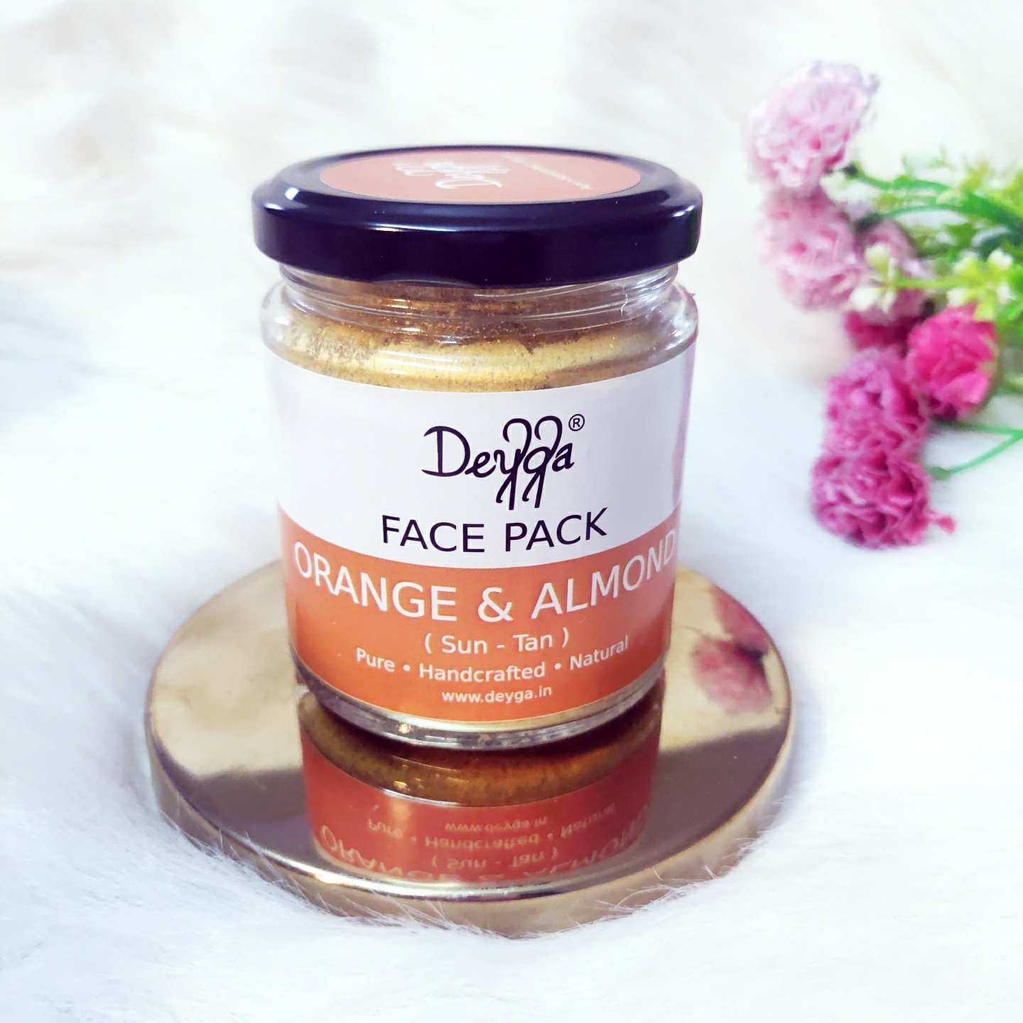 Deyga orange and almond face pack review
