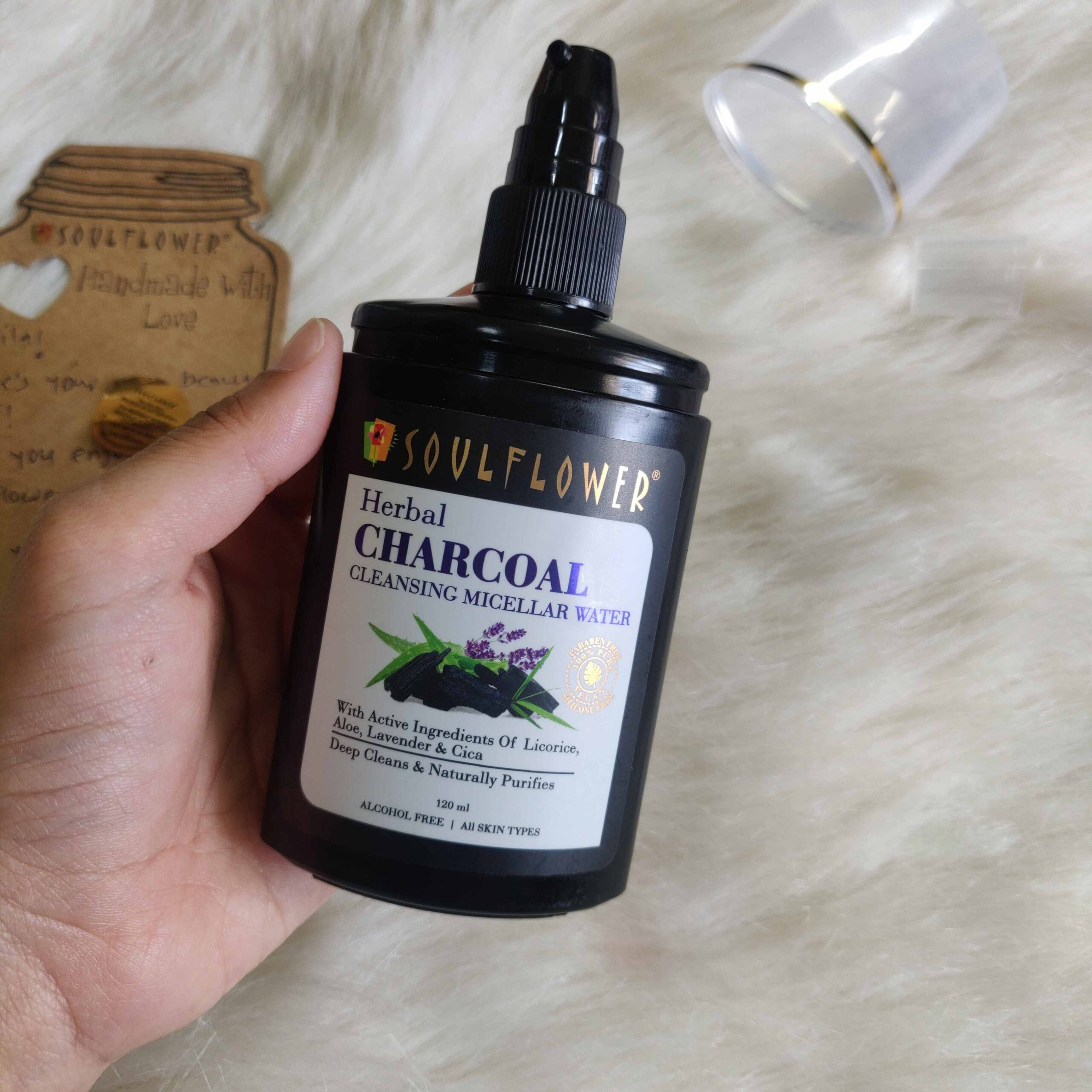 Soulflower Charcoal Cleansing Micellar Water Review