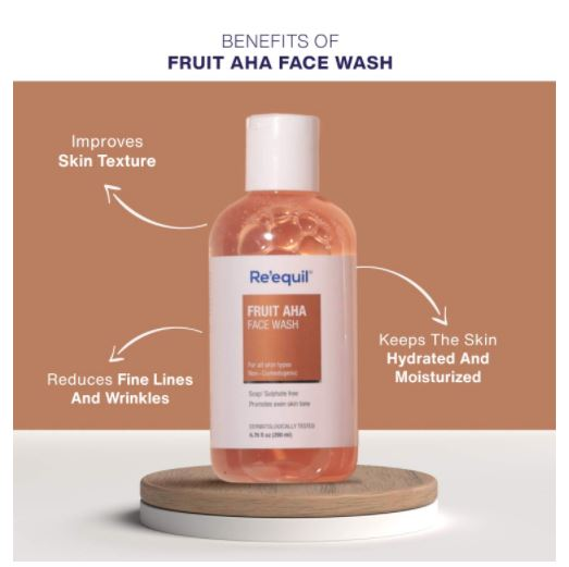 Re'equil Fruit Aha Face Wash